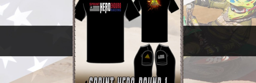 2018 Round 1 T-Shirt - Sprint Hero Racing Featured Header