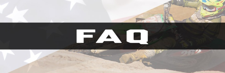 Sprint Hero Racing Featured Header - FAQ