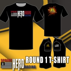 SPRINT HERO RACING ROUND 1 T-SHIRT