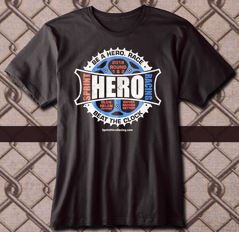 2019 Sprint Hero Round 1 & 2 T-Shirt