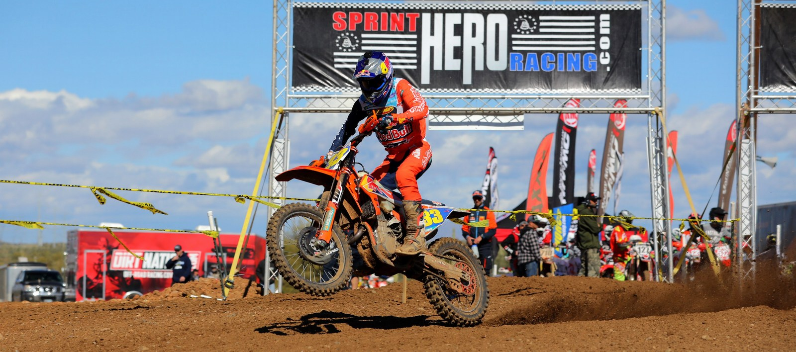 Taylor Roberts Takes Canyon MX