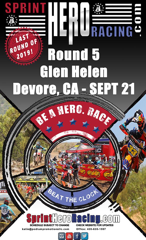2019 Sprint Round 5 Glen Helen Flyer 612x1008